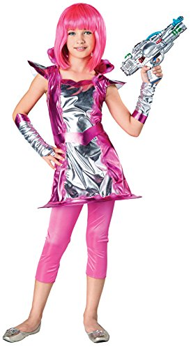 Light Up Cosmic Girl Child Costume -