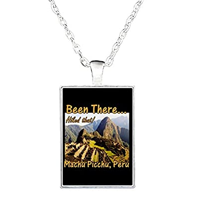 Hike The Inca Trail Machu Picchu Peru Been There Done That - Necklace