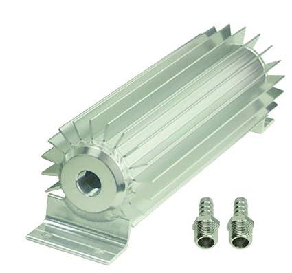 Aluminum heatsink for tranny cooler