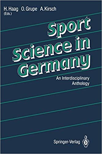 Sport Science in Germany: An Interdisciplinary Anthology: 9783642776328:  Medicine & Health Science Books @ Amazon.com