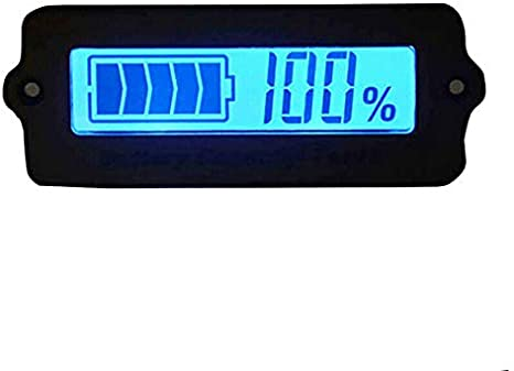 Electric Vehicles 12 Cell Lithium Battery 38.4-44.4V etc Battery Capacity Tester SUPERTOOL Battery Status Meter LY6W LCD Display Battery Charge Indicator for Power Bank