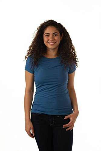 ONNO Women's Bamboo T-Shirt 2XL Sea Blue