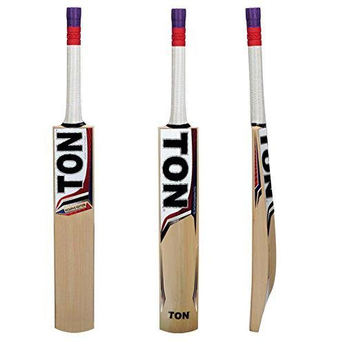 SS - Sunridges SS TON Reserve Edition Kashmir Willow Cricket Bat,Short Handle by SS - Sunridges