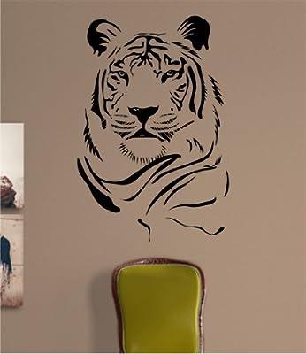 Tiger Face Version 103 Decal Sticker Wall Animal Kid Child Room Boy Girl Teen Nursery