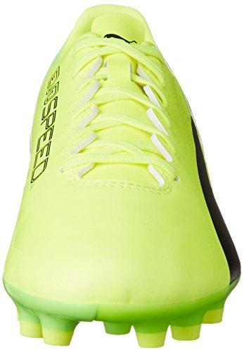 green 17 Ag Yellow 01 Puma safety Evospeed Hombre Fútbol De 4 puma Botas Para Black Amarillo Gecko 6q6p5tw