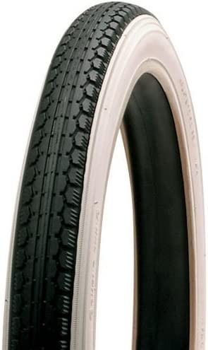 Raleigh T1703 Custom Whitewall Cycle Tyre 20x1.75 Inch by Raleigh Black