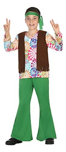 Atosa-20678 Disfraz Hippie, color verde, 5 a 6 años (20678 ...