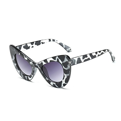 for Eye Women Frame Resin Narrow Retro gray Cat Goggles frame gradient Ink Sunglasses Vintage Clout taXwXqCY