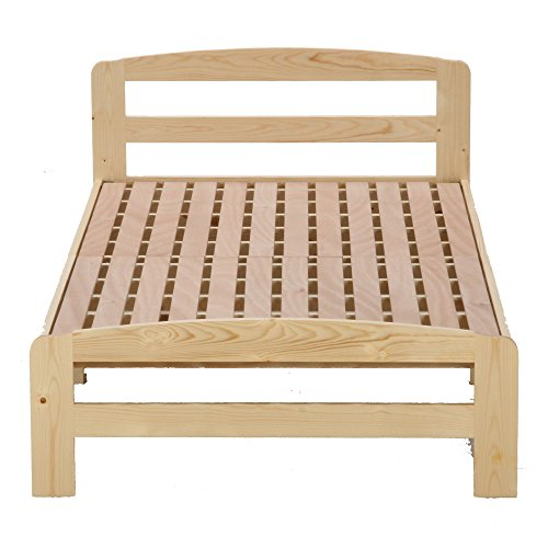 Fuji trade wooden bed Mario Single Natural 50 207
