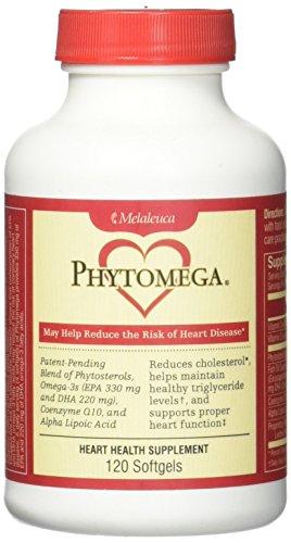 Heart Health Supplement - Phytomega Heart Health Supplement 120 Softgels.