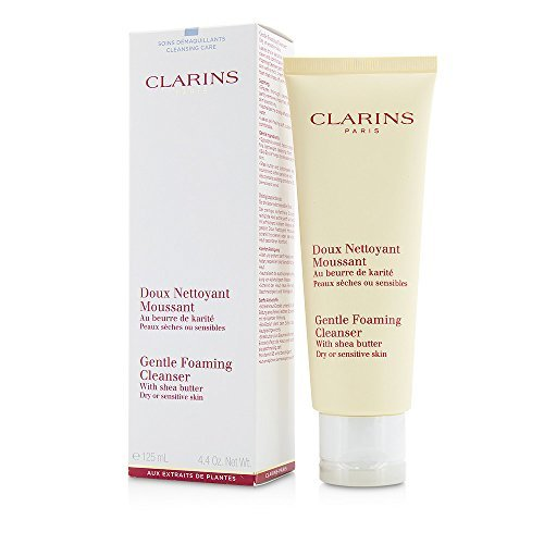 Clarins by Clarins Gentle Foaming Cleanser With Shea Butter ( Dry/ Sensitive Skin ) --125ml/4.4oz ( Package Of 4 ) ()