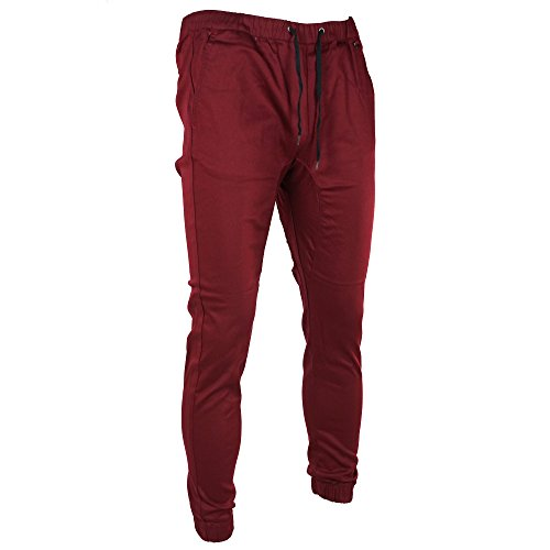 Instinct Men's Twill Drop Crotch Jogger Slim Fit Pants (S, (Instinct Pant)