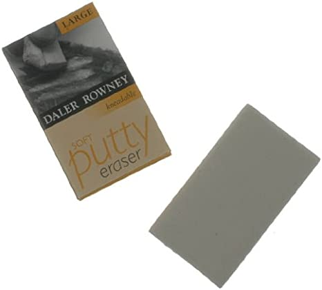 Daler Rowney Soft Putty Eraser Small Kneadable