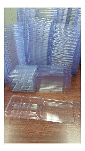 100 Wax Melt clamshells 6 cavity tart New + free ()