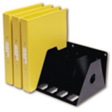 Rotadex A4R/7 BLACK A4 7 - Organizador para archivadores de anillas con 7 separadores, color negro: Amazon.es: Oficina y papelería