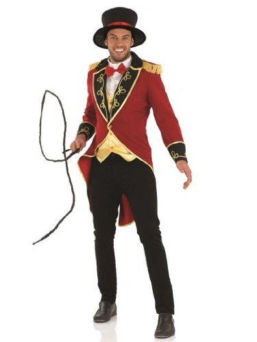 Ringmaster Costume Party City (XL Men's Ringmaster Costume)