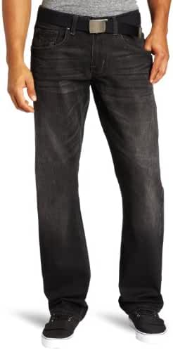 Lee Men's Dungarees Belted Vintage Slim Straight Leg Jean