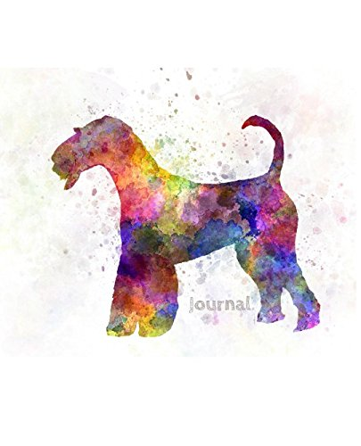 - Journal: Airedale Terrier (Rainbow Dog Journal)
