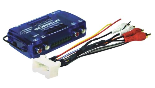 Scosche Radio Wiring Harness for 2000-Up Toyota Amplifier Interface (Toyota Amplifier)