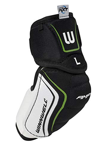 (Winnwell AMP700 Junior Hockey Elbow Pads with CleanSport NXT Odor Control Technology (Large))
