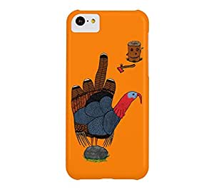 BIG BIRD iPhone 5c Apple Orange Barely There Phone Case - Design By Humans