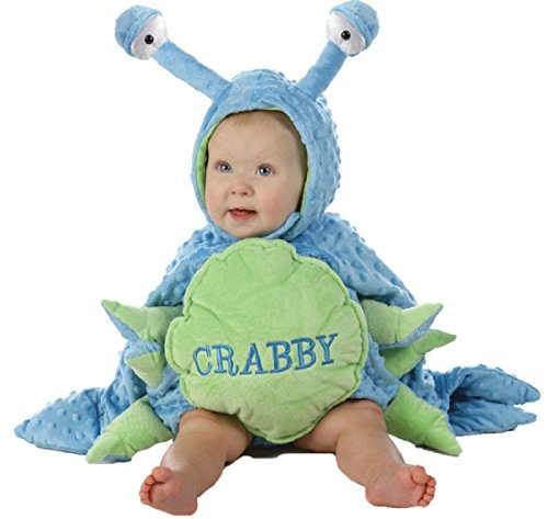 Princess Paradise Crabby Baby Infant Costume - Baby 18-24,Blue -