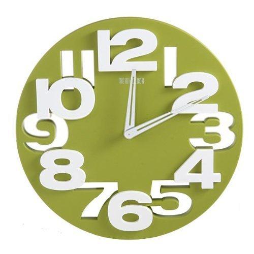 GMMH 3 D con diseno Moderno Reloj de Pared de Cocina baduhr Oficina Reloj de la decoracion Tranquila 8808