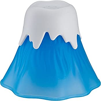 Erupting Volcano Microwave Cleaner, Kitchen Dirt Cleaner, Fun, Safe And Easy To Use (Light blue)