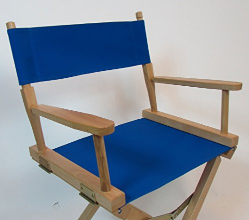 Sunbrella Directors Chair Replacement Cover (Flat Stick) (Pacific Blue) (Covers Chairs Replacement Directors)