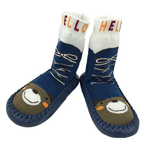 Kids Floor Socks Thick Terry Anti-slip Socks Toddler Soft Bottom Socks Baby Home Slipper