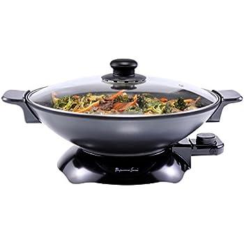 Amazon Com Breville Ew30xl Electric Gourmet Wok Pans
