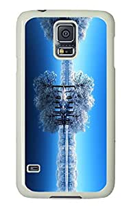 Brian114 Samsung Galaxy S5 Case, S5 Case - Customized White Hard Back Case Cover for Samsung Galaxy S5 Snow World Top Quality Hard Case for Samsung Galaxy S5 I9600