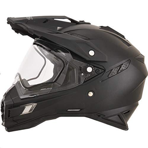 AFX FX-41DS Solid Mens Snow Helmets - Flat Black - ()