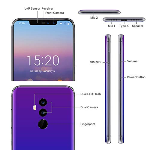 Smartphone Android 8.1 4G UMIDIGI Z2 Global Edition