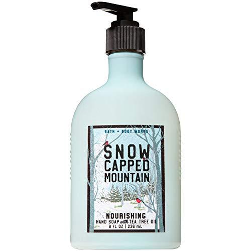 Bath and Body Works SNOW CAPPED MOUNTAIN Hand Soap with Tea Tree Oil 8 Fluid Ounce (2018 -