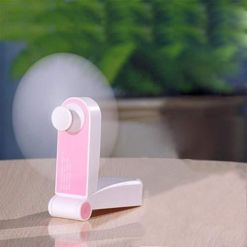 BAVIER USB Mini Fan, Outdoor Mini Rechargeable Folded