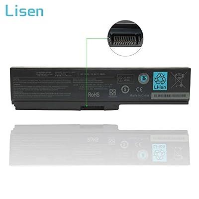 Lisen 10.8V 48Wh/4400mah PA3817U-1BRS Laptop Battery for Toshiba Satellite C655 M645 P745 L755 L675 L675D L745 L750 L750D L755D M640 C655-S5049 C655-S5082 C655-S5128 C655-S5212 Series from Lisen®