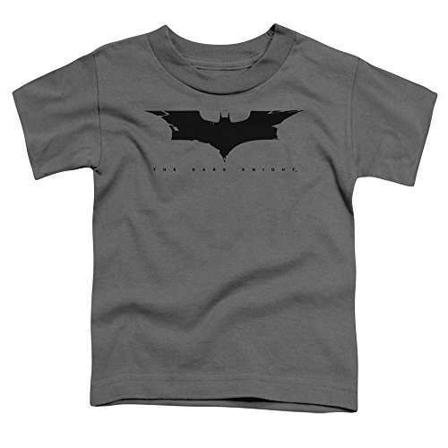The Dark Knight Cracked Bat Logo Unisex Toddler T Shirt For Boys and Girls