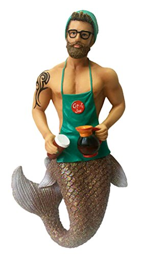December Diamonds Merman Ornament - Java Joe