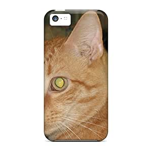 Durable Protector Case Cover With Cool Kitty Hot Design For Iphone 5c
