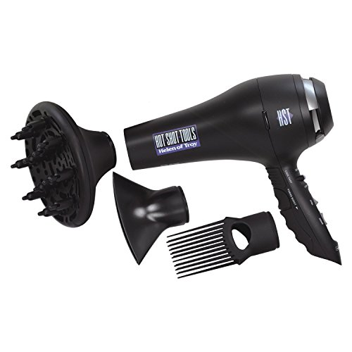 Hot Shot Tools Turbo Boost Tourmaline Hair Dryer, 1875 (Hot Tools Super Tool)