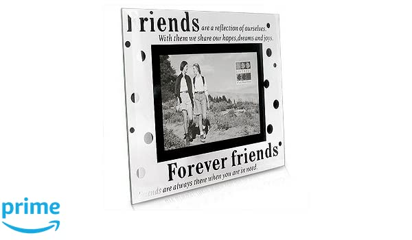 Sixtrees Moments Forever Friends Marco de cristal de la foto: Amazon.es: Hogar