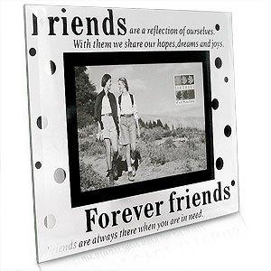 Sixtrees Moments Forever Friends Marco de cristal de la foto