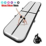 airtrack tumbling mat 10ft/13ft/17ft/20ft/23ft/26ft/29ft/33ft/36ft/39ft Inflatable Gymnastics Air Track 8/4 inches Thickness Yoga Taekwondo water floating Camping Training mat with the Electrical Pump