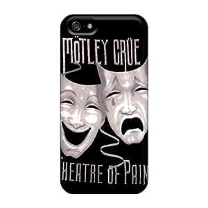 Protector Hard Phone Case For Apple Iphone 5/5s (AhK9994WNFN) Custom Trendy Motley Crue Series