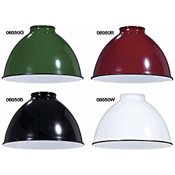 B Amp P Lamp Industrial Style Metal Dome Shades Red