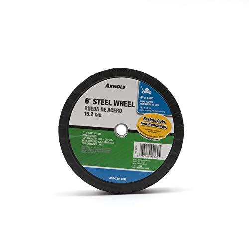 Arnold 490-320-0001 6X1.5 Steel Offset Wheel