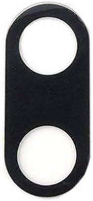 NO Repuesto Spare Part len Cristal para Carcasa Trasera de Repuesto Lente Objetivo Rear Cámara Back Camera + Adhesiva de Doble Cara Adhesiva para Xiaomi MI A1\ 5X