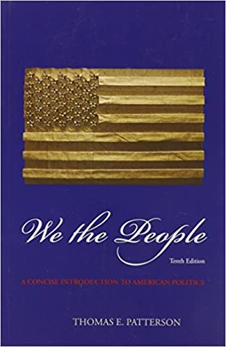 We the people thomas patterson 9780073379173 amazon books we the people 10th edition fandeluxe Image collections