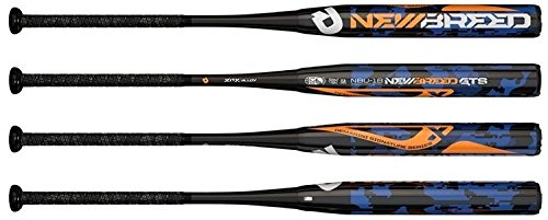 (New Breed GTS DeMarini WTDXNBU18 Adult USSSA Slowpitch Softball Bat - 34in/30oz)